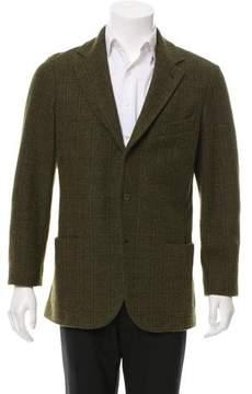 Loro Piana Suede-Trimmed Cashmere Sport Coat