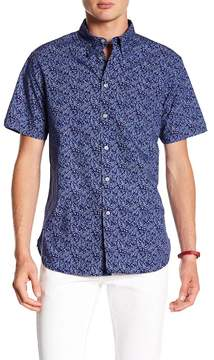 Jachs Print Short Sleeve Classic Fit Shirt