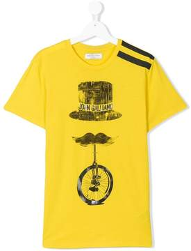 John Galliano TEEN logo print T-shirt