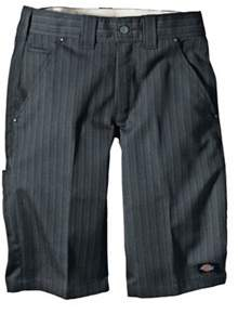 Dickies Men's 13 Regular Fit Shadow Stripe Short.