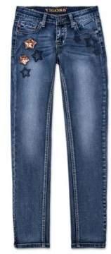 Vigoss Girl's Starry Night Skinny Jeans