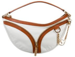 Versace Bicolor Leather Hobo