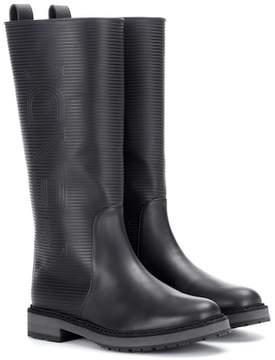 Fendi Rubber rain boots