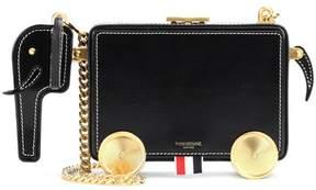 Thom Browne Leather shoulder bag