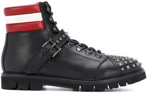 Bally studded Champions combat boots