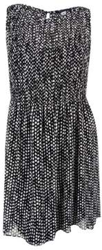 Tommy Hilfiger Women's Printed Sleeveless High-Low A-Line Dress