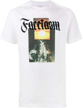 Facetasm slogan front T-shirt