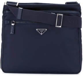 Prada top zip shoulder bag