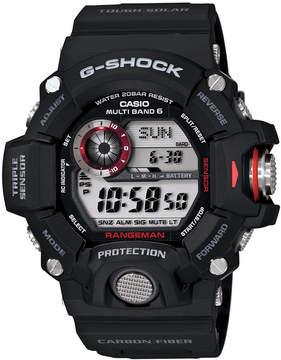 G-Shock Men's Digital Rangeman Black Resin Strap Watch 54x55mm GW9400-1