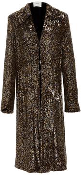 Rodarte Sequin Embellished Long Jacket