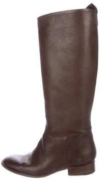 Max Mara Leather Knee-High Boots