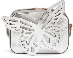 Sophia Webster 'Flossy' butterfly appliqué leather camera bag
