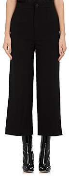 Chloé Women's Suiting Piqué Wool Crop Trousers