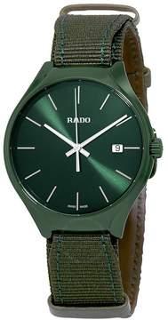 Rado True Quartz Green Dial Men's Watch