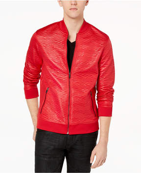 INC International Concepts I.n.c. Men's Slick Jacquard Jacket, Created for Macy's