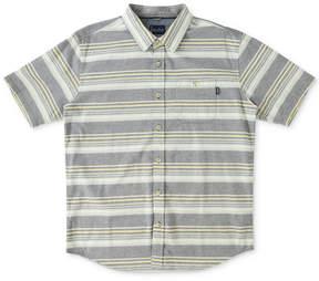 O'Neill Jack Men's Pura Vida Striped Cotton Shirt