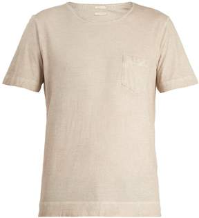 Massimo Alba Patch-pocket crew-neck cotton T-shirt