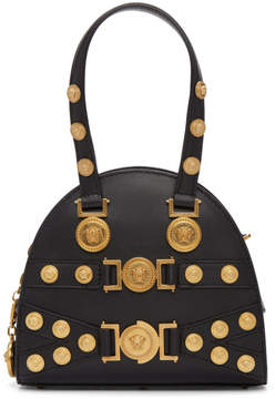 Versace Black Small Medusa Bowling Bag