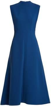 Emilia Wickstead Elizabeth double-wool A-line midi dress