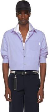 Prada Blue Patch Shirt
