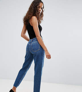 Asos ORIGINAL MOM Jeans in Haillie Mid Wash With Stepped Hem