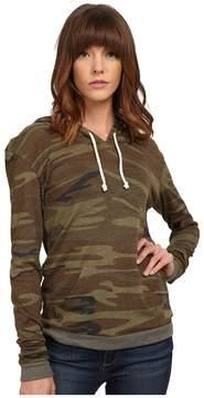 Alternative Printed Pullover Hoodie Women's Sweatshirt