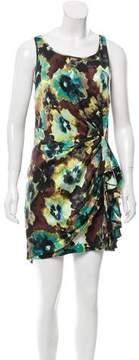 Cynthia Steffe Printed Silk-Blend Dress