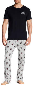Lucky Brand Comfy Cotton Tee & Jersey Pants