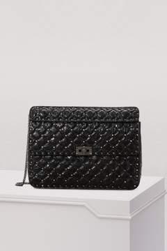 Valentino Large Rockstud Spike Shoulder Bag