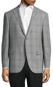 Corneliani Notch-Lapel Plaid Jacket