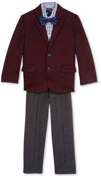 Nautica 4-Pc. Jacket, Shirt, Pants & Bowtie Set, Toddler Boys (2T-5T)