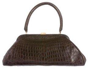 Lambertson Truex Crocodile Handle Bag w/ Tags