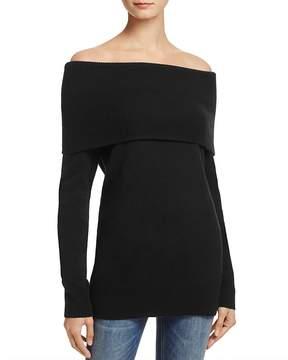 Aqua Cashmere Off-the-Shoulder Sweater - 100% Exclusive
