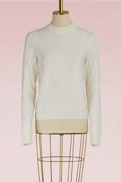 Carven Cable-Knit Sweater