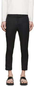 Ann Demeulemeester Black Biker Keating Trousers