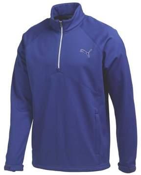 Puma Men's Warm Storm 1/2 Zip Popover Sodalite Blue S