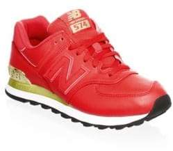 New Balance Leather Low-Top Sneakers