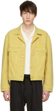 Cmmn Swdn Yellow Denim Boris Jacket