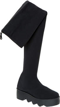 Max Studio gummy : over-the-knee knitted boots