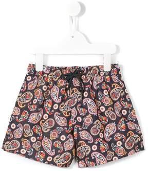 Trunks Sunuva 'Neon Paisley' swim shorts