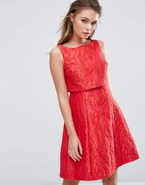 Coast Textured Jacquard Dress