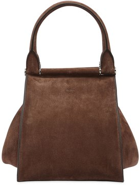 Medium Soft Leather Top Handle Bag