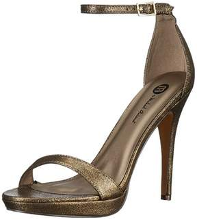 Michael Antonio Womens Lovina Open Toe Casual Ankle Strap Sandals.