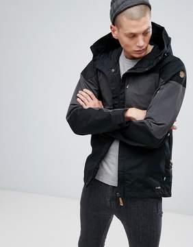 Fjallraven Keb Pocket Jacket in Black