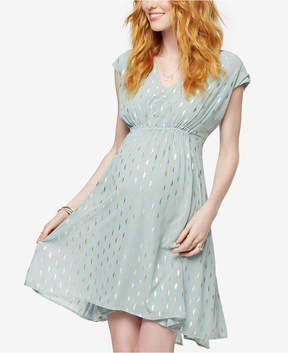 Collective Concepts Maternity Printed A-Line Dress