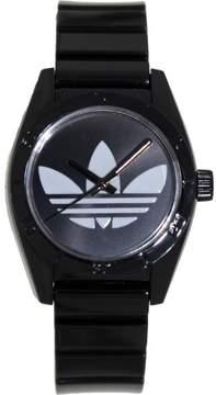 adidas Women's ADH2776 Santiago Black Plastic Quartz Watch