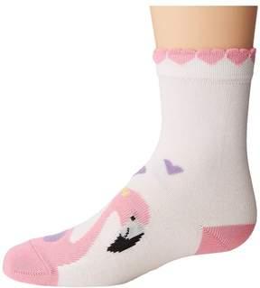 Falke Flamingo Love Anklet (Toddler/Little Kid/Big Kid)