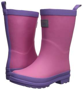 Hatley Pink and Purple Rain Boots Girls Shoes