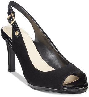 Giani Bernini Blankaa Slingback Heels, Created for Macy's Women's Shoes