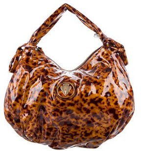 Gucci Tortoise Hysteria Hobo w/ Tags - BROWN - STYLE